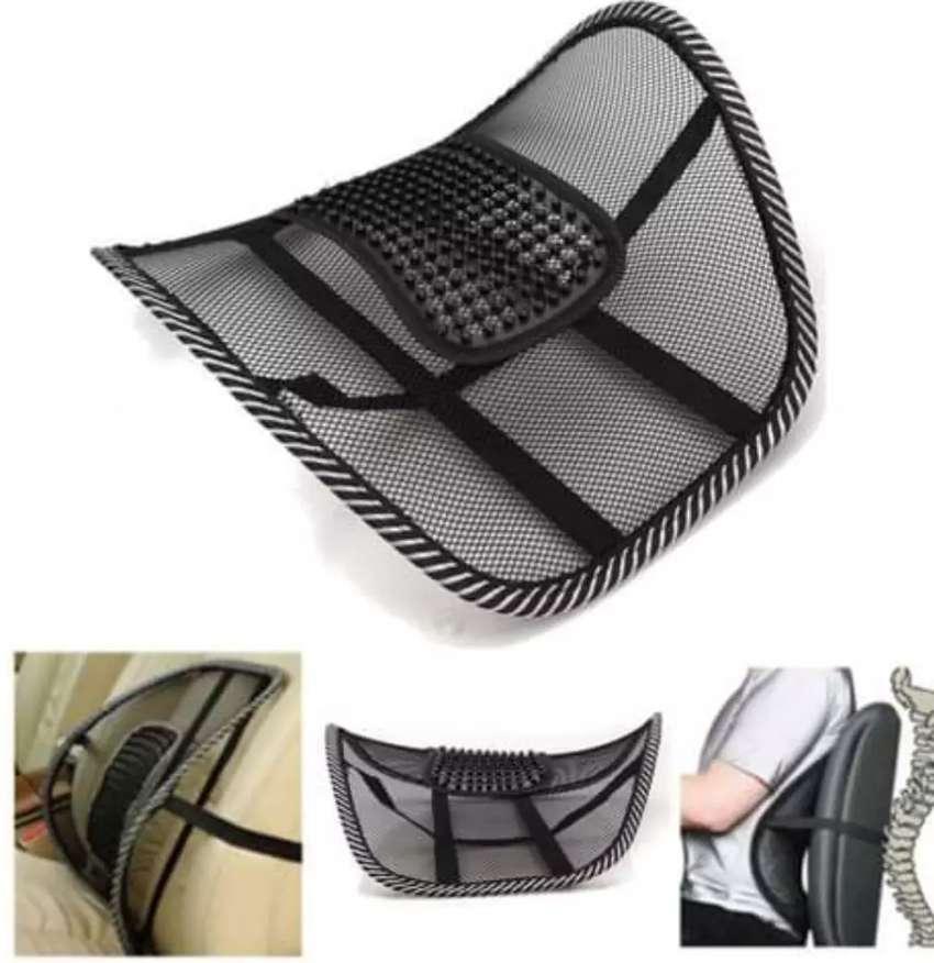 Complemento para silla de oficina apoyo para la espalda 2 unidades 0
