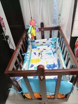Cuna Bebé en madera