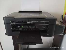 Impresora Multifunción Epson EcoTank L375. Equipo Multifunción ultracompacto con Impresora, Cabezal para cambiar
