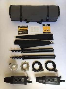 Flashes estudio profesional Bowens 750w Esprit Gemini Kit profoto prometh