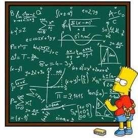 clases y resolucion de examenes de fisica y matematicas