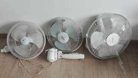 Vendo 3 ventiladores