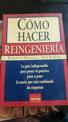 COMO HACER REINGENIERIA RAYMOND MANGANELLI MARK M. KLEIN ED NORMA
