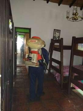 Control de plagas y desinfecion de areas
