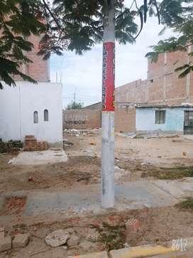 Venta de terreno de 120 metros cuadrados en Lambayeque
