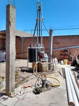 Perforaciones de suelos para AGUA hasta 50 Mts