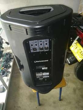 Cabina profesional turbo sound 12 pulgadas