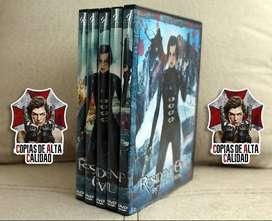 Resident Evil Colección Copias Excelente Calidad 5 Dvd's