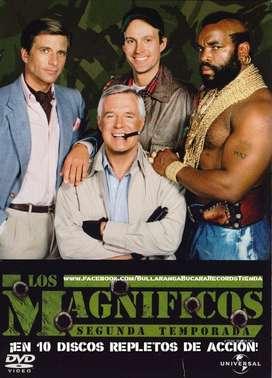Los Magníficos (The A-Team) (1983-1987) Serie completa + 2 películas + Soundtrack + Extras con envío incluído