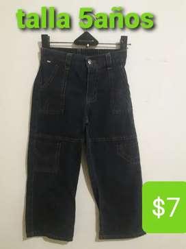 Pantalones para niños Diferentes tallas