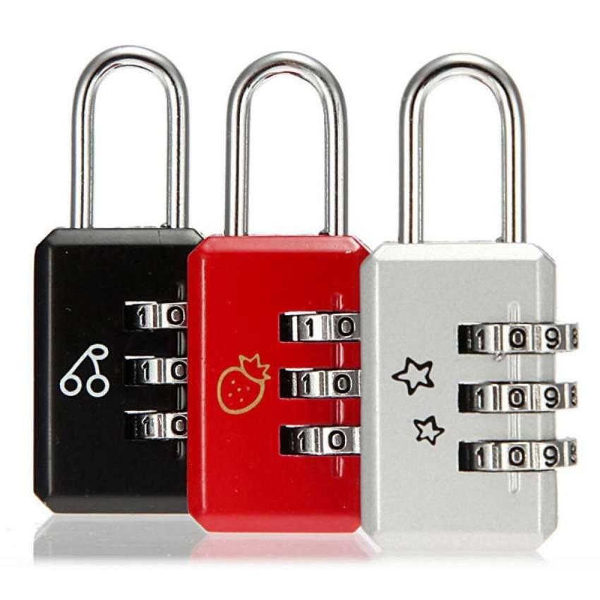 candado clave numérica seguridad maletín, maletas viaje en acero3 0