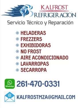 Técnico y Reparación Heladeras y Lavarropa