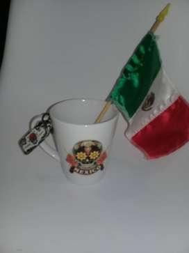 POCILLO mug MEXICANO IMPORTADO NUEVO
