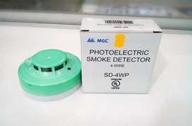 Detector de humo UL Mircom de 2/4 hilos