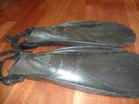 Aletas de Buceo Snorkel Technisub Idea 3 Talle Compact Medium