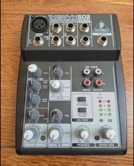 Consola Mezclador behringer xenyx502
