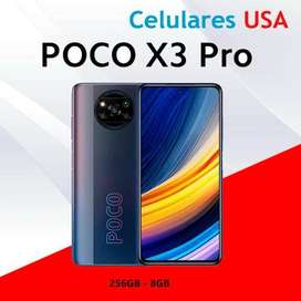 Xiaomi Poco X3 PRO 8GB RAM 256GB CAJA SELLADA. TIENDA SAN BORJA