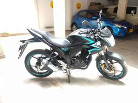 Vendo moto Suzuki Gixxer modelo 2018 ,12000 km