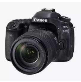 Canon 80d nueva