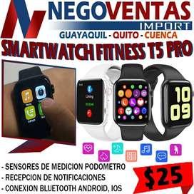 SMARTWATCH FITNESS T5 PRO EN DESCUENTO EXCLUSIVO DE NEGOVENTAS