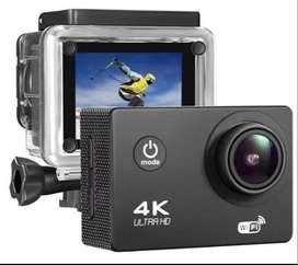 Excelente Camara deportiva ultra HD, de wiffi y sumergible hasta 30mtrs de profundidad
