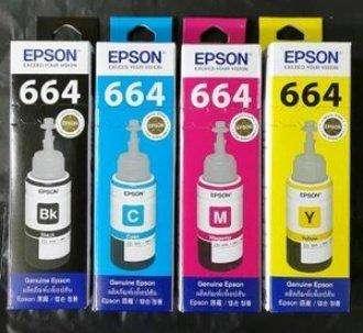 botella tinta epson 664 original 70ml 0