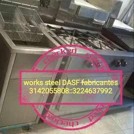 marmita horno mesones lavaplatos campanas ductos freidores  extractores lavamanos horno  picadora procesador