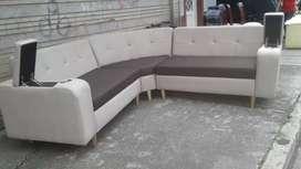 Mueble y sofas