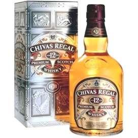 Whisky chiva regal 12años