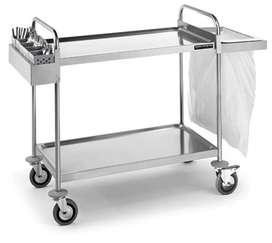 Carritos de Transporte en Acero para Restaurantes y Alimentos