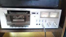 Cassette Deck Hitachi Japonés