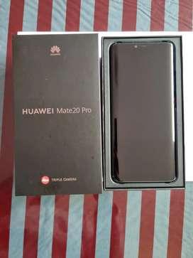 Huawei mate 20 pro semi nuevo calificación 9 de 10