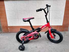 Bicicleta niño hotwels