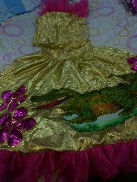 Vestido de Caiman O Carnaval