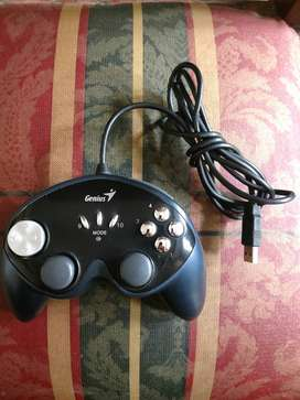 Genius MaxFire G-12U Vibration Gamepad PC Negro