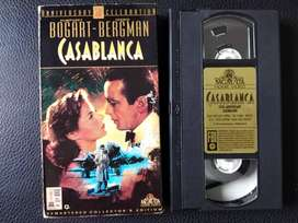 Pelicula VHS Original - Casa Blanca - MGM
