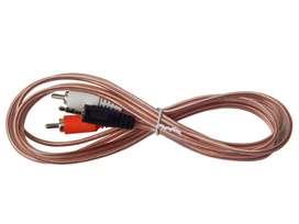 Cable de Audio RCA a Estéreo 3.5mm 2 a 1 1.8M