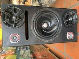 Caja de sonido, Sonido para carro, Planta Boss