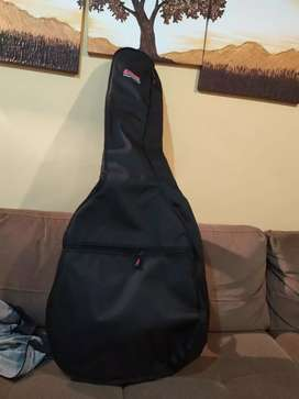 Estuche forro grande para guitarra acústica americano