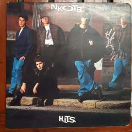 Discos LP, vinilo new kids on the block hits (negociable)