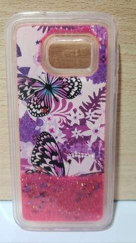 Funda Antigolpes Samsung S7  Glitter Brillo Movil Liquido