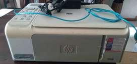 Liquido impresora/scanner marca Hp