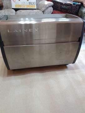Cafetera Expres criollo Lainex 2 grupos