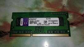 Vendo o Cambio memoria Kingston DDR3 de 2GB