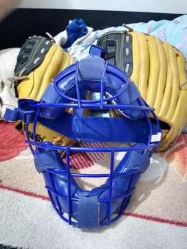Se vende guantes de béisbol y careta de béisbol originales franklim