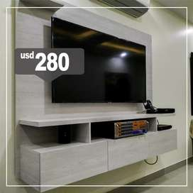 Muebles para televisores // Centro de Entretenimiento