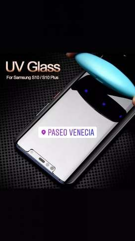 Glass Uv Galaxy S8 S9 S10 Note 8 Note 9