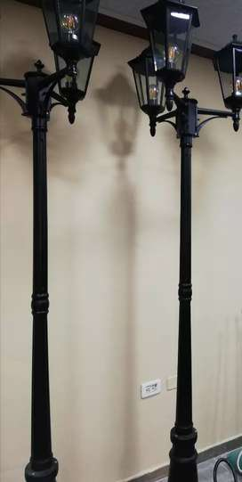 Poste luminaria lámpara Farol