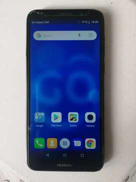 Vendo Huawei y5 16gb color negro en ecxelente estado