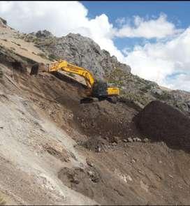 Alquiler de excavadora hidráulica